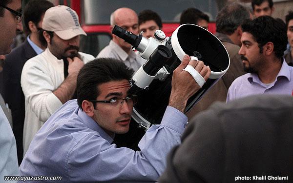 ویژه برنامه روز جهانی نجوم در تبریز - انجمن نجوم آیاز - رصد ماه و زحل