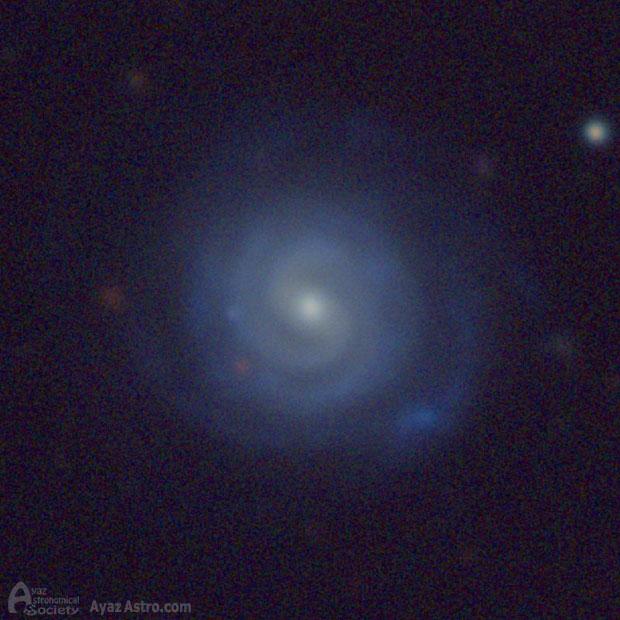 کهکشانی شبیه به راه شیری