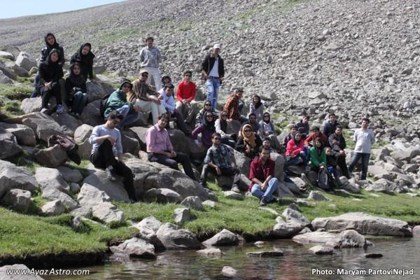 تور رصدی تفریحی سهند - انجمن نجوم آیاز تبریز