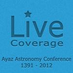 پوشش زنده همایش بزرگ نجوم