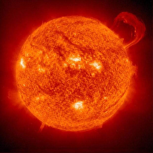 شراره های خورشیدی