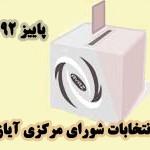 انتخابات دوره جدید شورای مرکزی انجمن