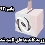 رزومه کاندیداهای انتخابات دوره جدید انجمن