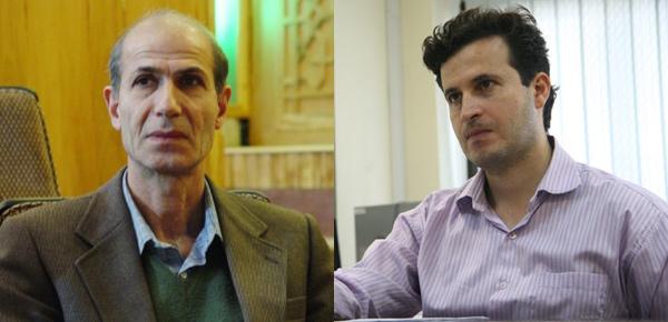 آقای حسنزاده و استاد صیاد
