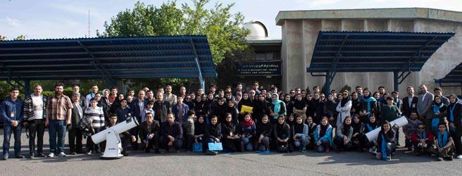 گزارش کارگاه گذرعطارد از مقابل خورشید در تبریز